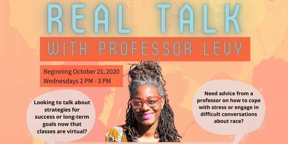 Weekly informal conversations with Prof. LaTaSha Levy