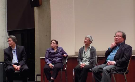 Professors Guerra, Million, Yee and Sumida