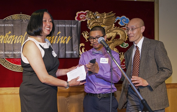 Connie So, International Examiner 2015 Community Service Award
