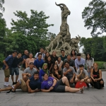 Students on the AES China Study Abroad