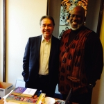 Akinyele Omowale Umoja and AES Department Chair Lauro Flores