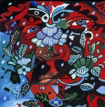 The Bull Got Into the Flower Garden - Alfredo Arreguín