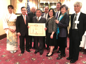 Attendees of award ceremony (Photo by Assunta Ng, NWAsianWeekly.com)