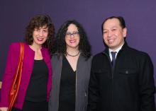 Sonnet Retman, Ileana Rodríguez-Silva, and Rick Bonus