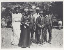 Emancipation Day celebration in Austin, Texas, on June 19, 1900