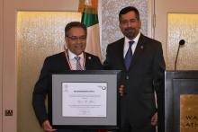 "•Consul of Mexico Presents ""Ohtli"" Award to University of Washington Professor Lauro Flores"
