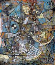 Painting by Fulgencio Lazo
