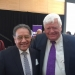 Professor Lauro Flores with Rep. Jim McDermott